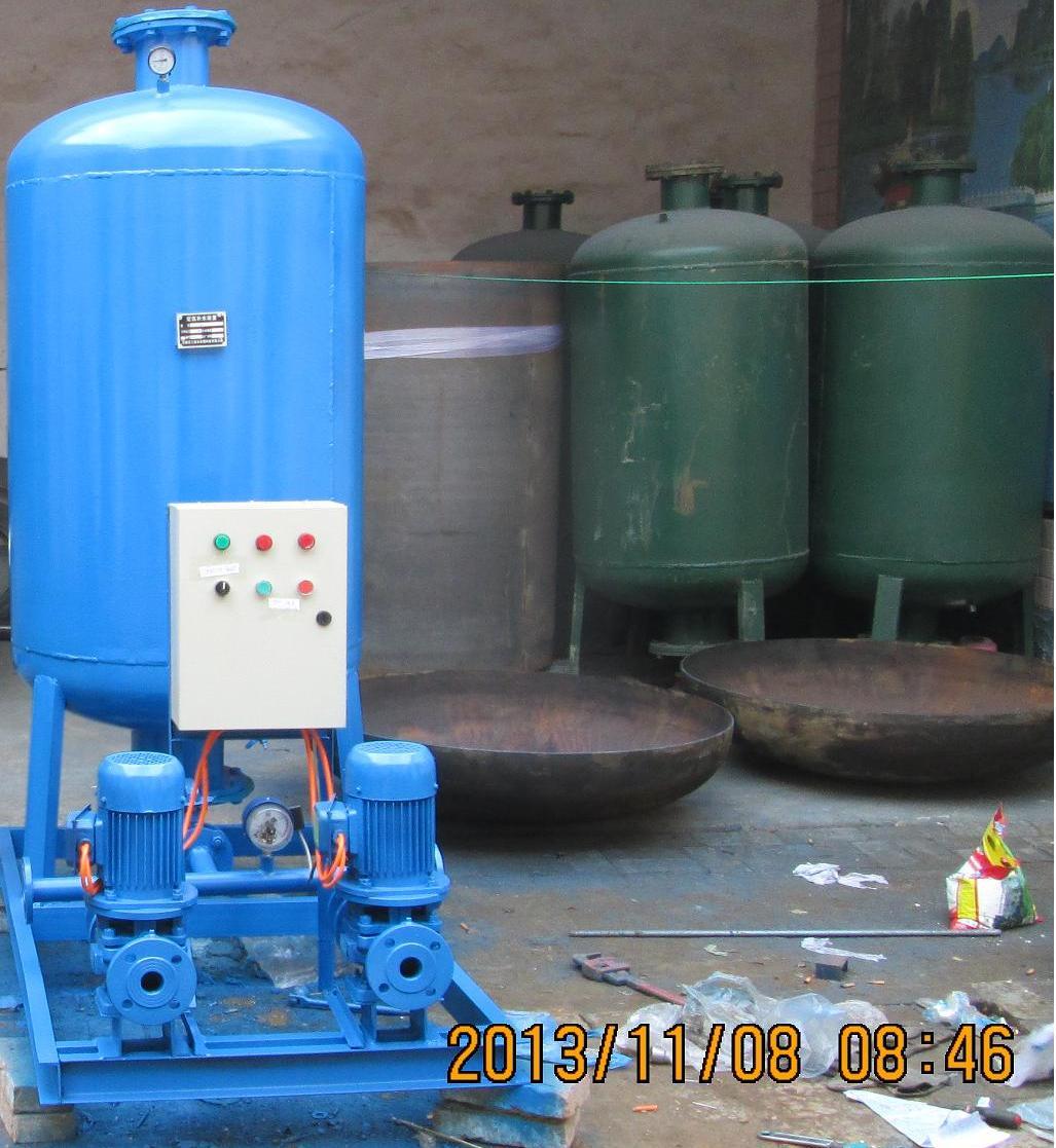 隔膜式气压罐的结构,工作原理